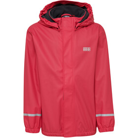 LEGO wear Jordan 729 Rain Jacket Kids red